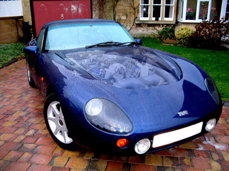 Bradley Emmanuel 1993 Tvr Griffith 500